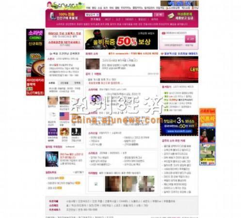 韩国最大色情网站曝光 涉嫌非法组织