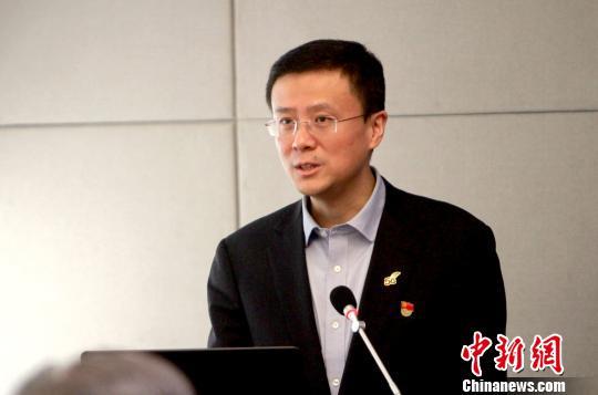 中国移动天津公司总经理阎江致辞。 张道正 摄