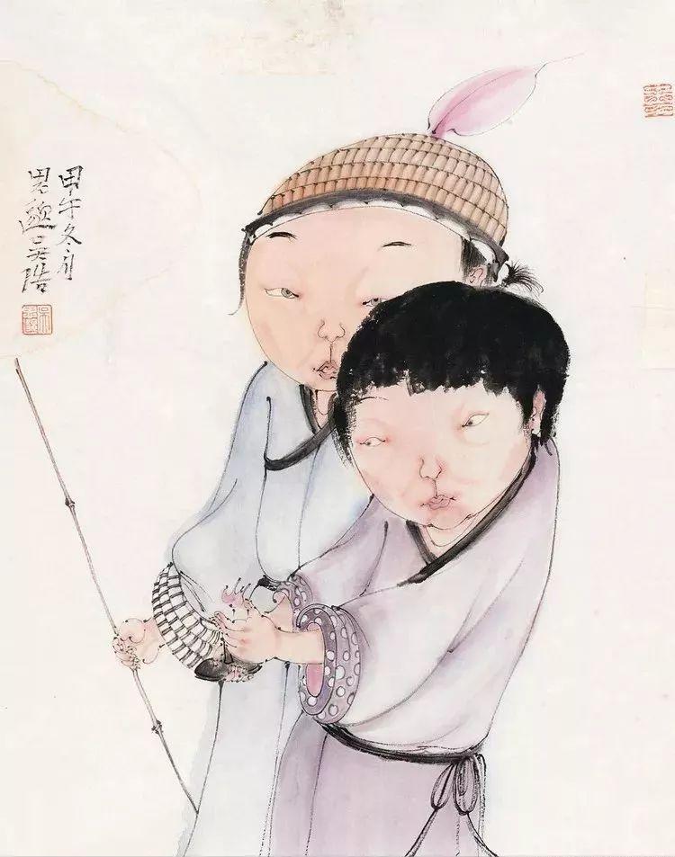 """吴浩:以""""现代春宫图""""著称,通过沉静的绘画体会内心的单纯与纯粹"""